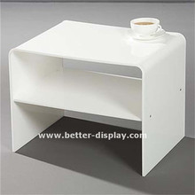 White Acrylic Tables, White Acrylic Tables Suppliers And Manufacturers At  Alibaba.com