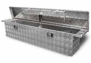 Aluminum Crossover Crossbed Truck Box Pickup ToolWaterproof Truck