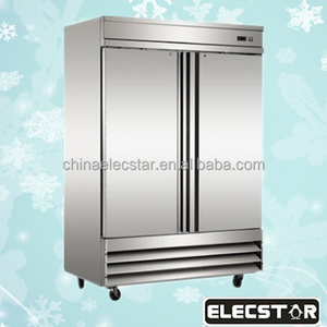 kitchen equipment for restaurant with price fan cooling stainless steel commercial refrigerator