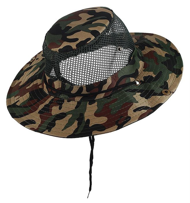 Camo Military Boonie Hunting Army Fishing Bucket Jungle Cap Hat