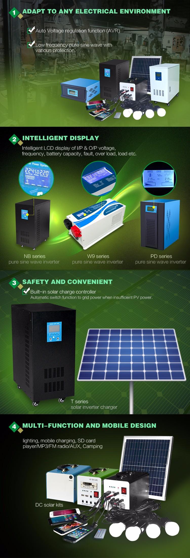 Xindun dc ac power inverters advantage