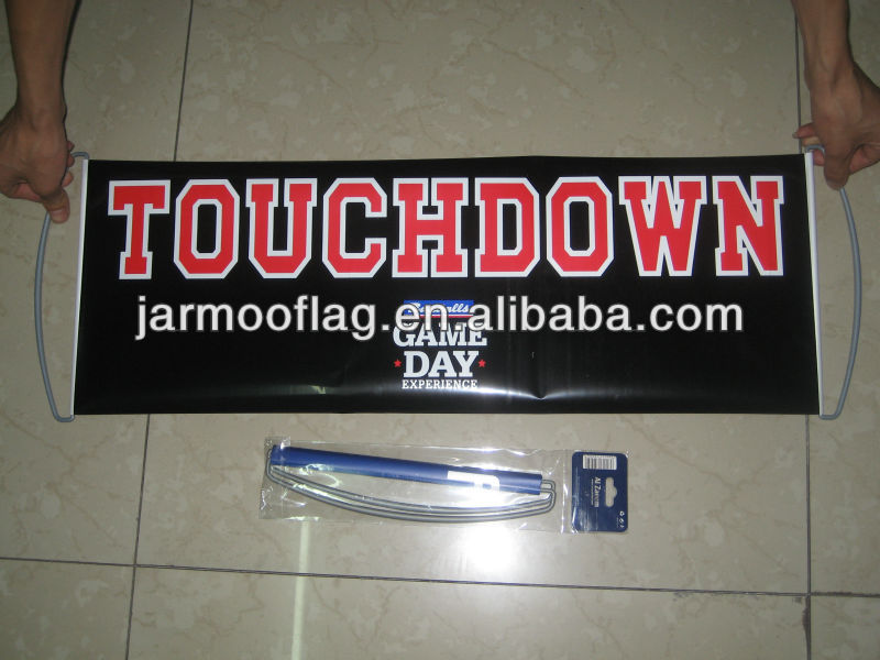 customized hand held scrolling banner