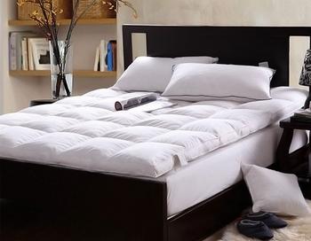 cheap sleepwell feather foam mattress cover mattress topper