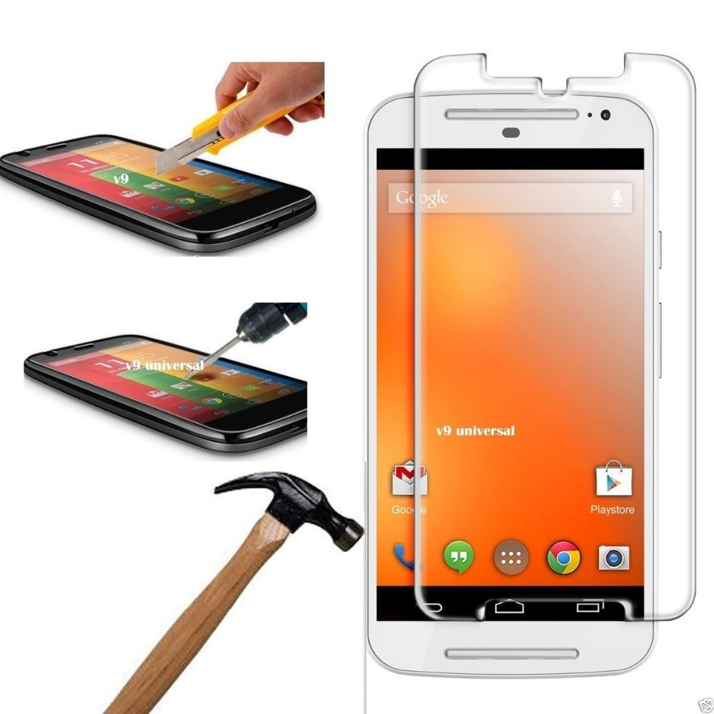 For Moto G2 Glass Tempered Glass film Screen Protector for Motorola Moto G2 G 2nd gen XT1063 XT1068