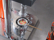 small /mini candy lollipop forming machine price