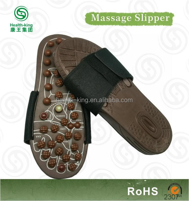 Profitable brown massaging sandal business