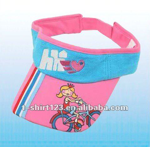 Cotton Sun Visor Cap for Kids