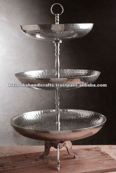 Three Tier Fruit Stand Cake Holder Candy Buffet 3 With Product On Alibaba