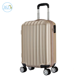 ABS+PC Factory Hard Case Luggage Bags Travel Trolley 4 Wheels Spinner