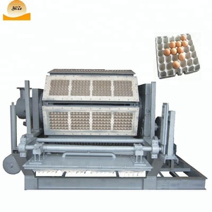 Small Pulg Egg Tray Moulding Machine Egg Tray Making Machine for Sale