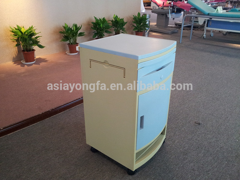 Automatic Assembly And Packing Line Adjustable ABS Patient Bedside Cabinet