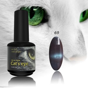 RONIKI Top Selling 166Colors 3D Cat Eye Nail Gel Polish 15ml Special Nail Painting Magnetic UV Gel