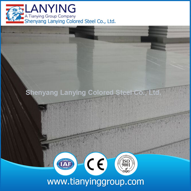 new steady and tight connection eps foam interior wall panel cool room
