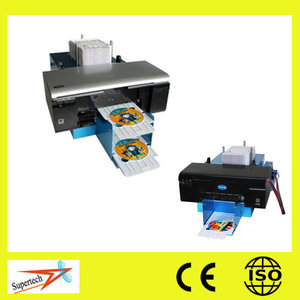 Flatbed Automatic Digital Printer CD DVD