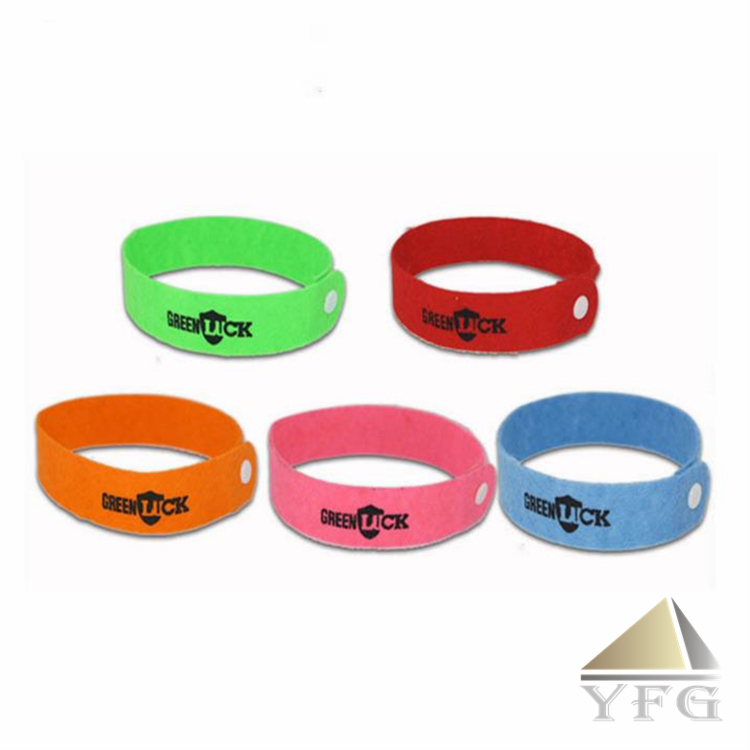 In Stock Nonwoven Fabric Mosquito Repellent Bracelet Wristband