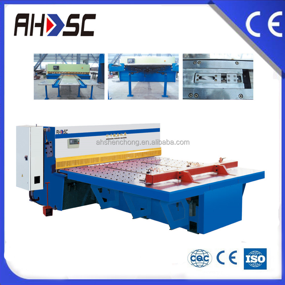 digital display with Factory instock cheap price hydraulic cnc shearing machine metal working tools