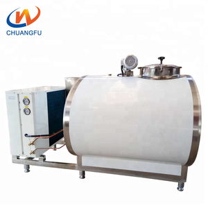 Popularly priced perferred Dairy Farm Milking Parlor Equipment 1T cow Milk Cooling Tank