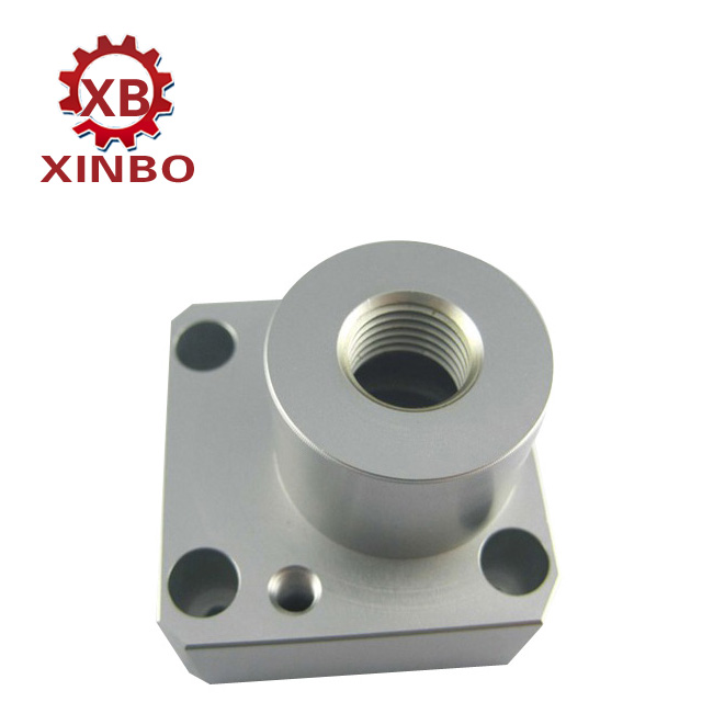 cnc machining rose gold anodized part cnc machining service