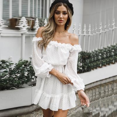 venta más caliente brillante n color Amazonas Venta al por mayor vestidos blancos para la playa-Compre ...