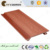 Wood grain synthetic plastic laminated wall panel