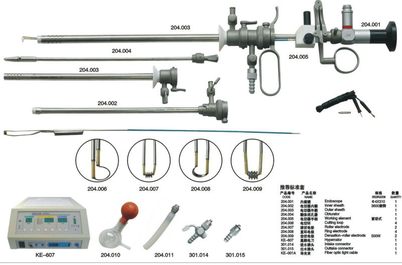 neues produkt 2013 hysteroskopie set hysteroskop hystero