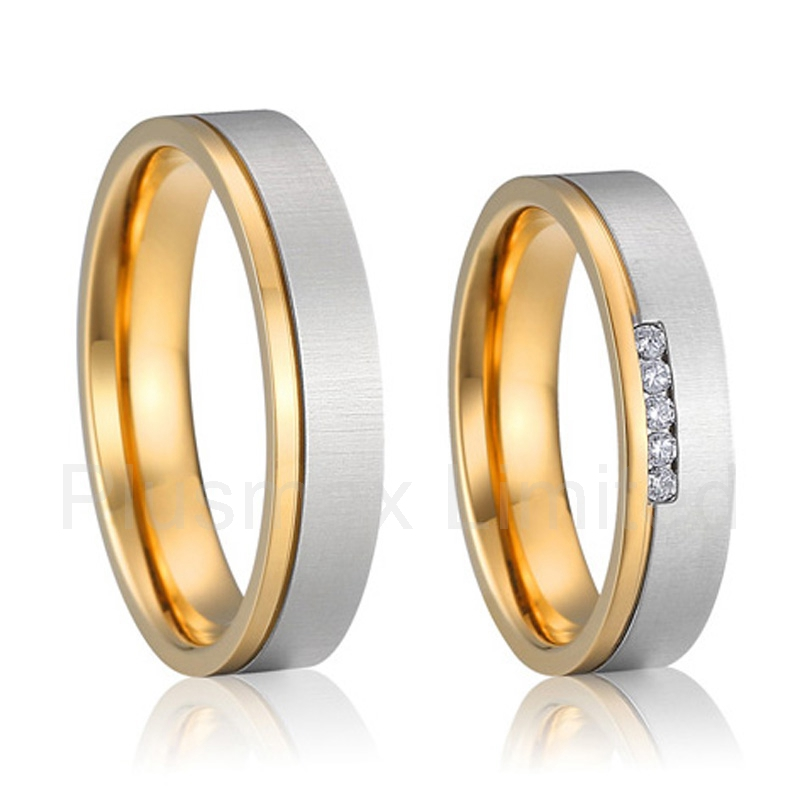 b160881bd2 titanium wedding rings for men and women anillos latest new design alliance  unique style bridal jewellery