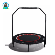 Fitness equipment bouncing bed