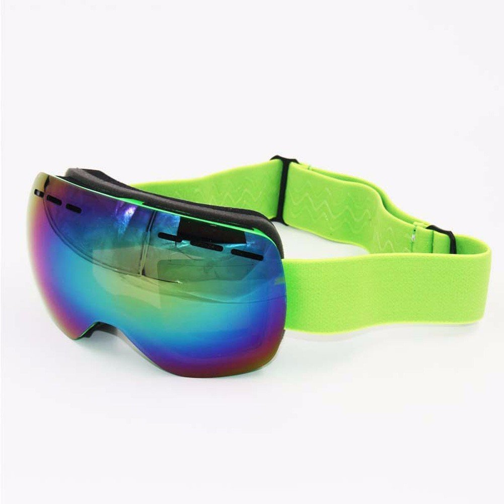f073de0259 Get Quotations · CU Youth spherical ski glasses double anti-fog and UV-for-youth  outdoor