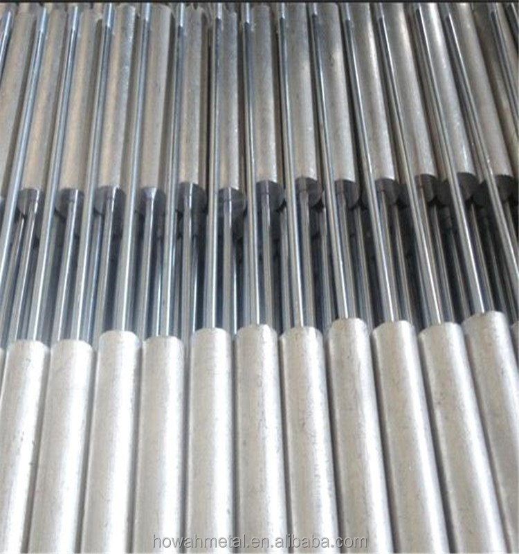 China made aluminum zinc anode rod for hot water heater