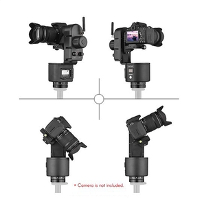 YT-3000 50m Wireless Remote Control Electronic Pan Tilt Motorized Panoramic Tripod Head For Camera Video Shooting