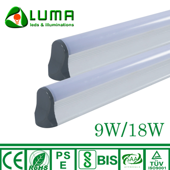 Bis Certified 9w 18w T5 Tube Led Batten Light Warm White 3000k - Buy T5  Tube,Led Batten Light,Bis Certified Led Tube Product on Alibaba com