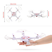 New SYMA Drone With HD Camera 2.4G Remote Control Aircraft 4CH 6Axis Gyro Headless SYMA Helicopters X5UC SYMA Quadcopter
