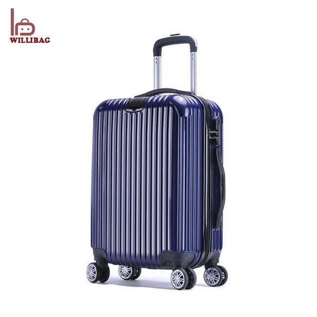4 wheels luggage PC travel luggage Colorful Travel Trolley Luggage Bag