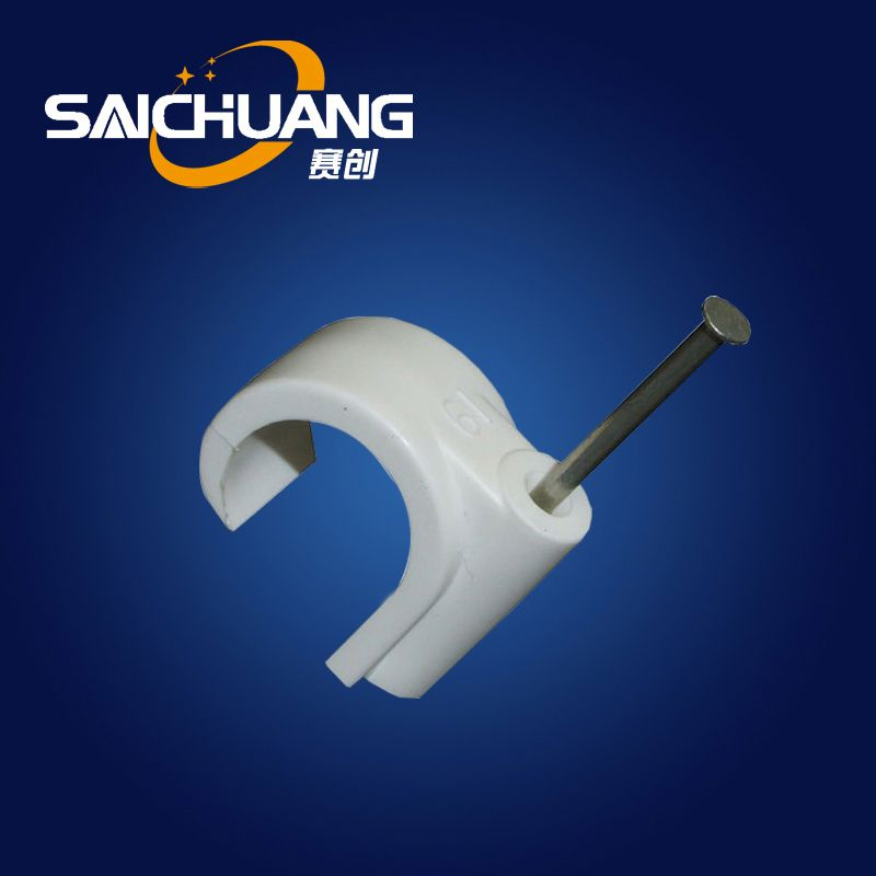 High quality wire nail plastic wall cable clips cable clip machine self-adhesive nylon cable clips