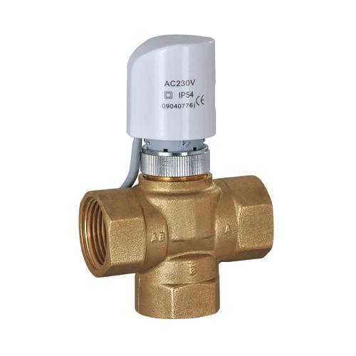 Latón sin plomo válvulas de co<em></em>ntrol de calor/calor válvulas de control/latón válvulas