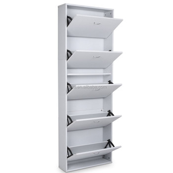 Commercial Closed Wall Mounted Shoe Racks