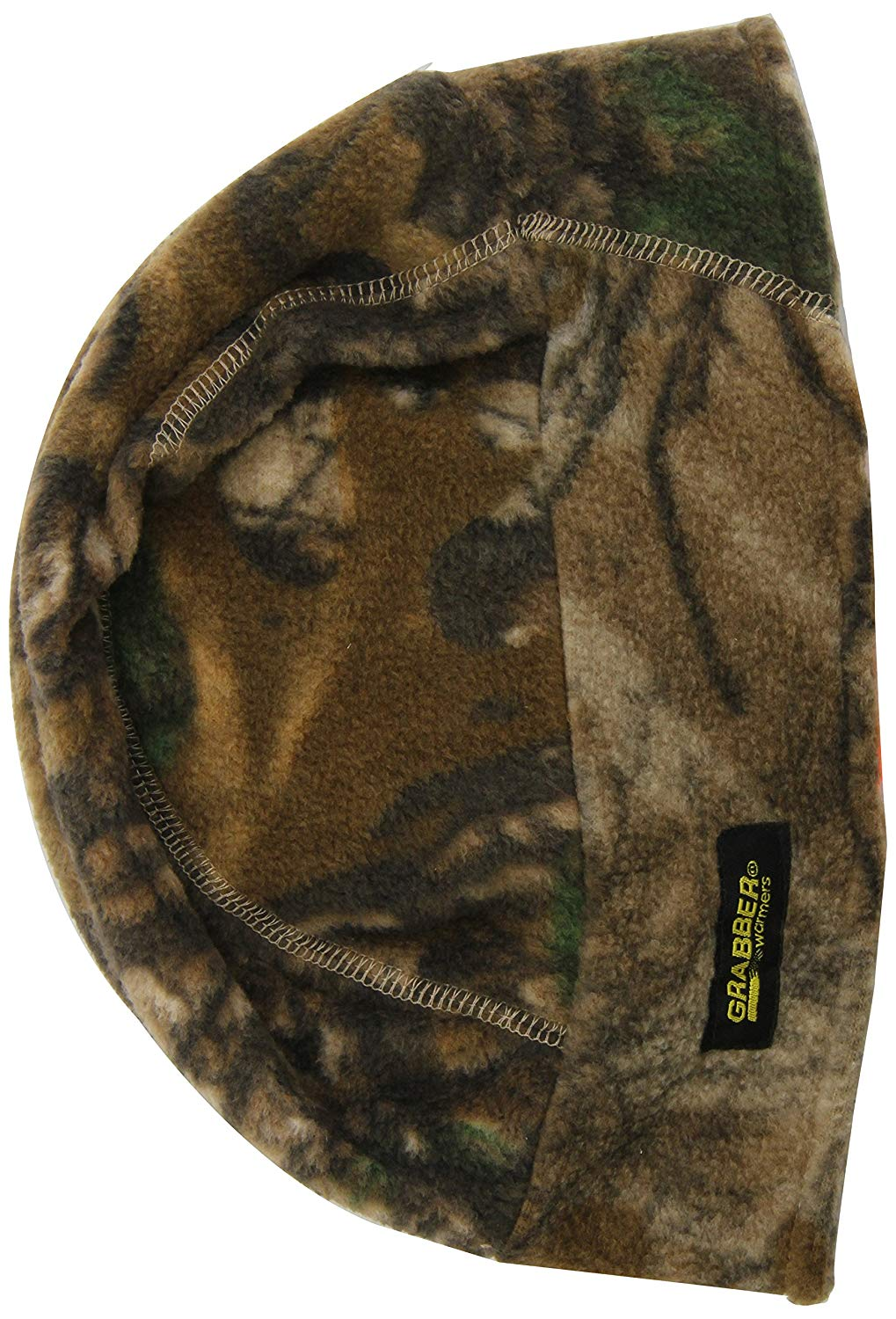 Get Quotations · Grabber Warmers Fleece Hat Reversible Realtree All-purpose Blaze  Orange with Warmer Pockets and 5e3223f8b045