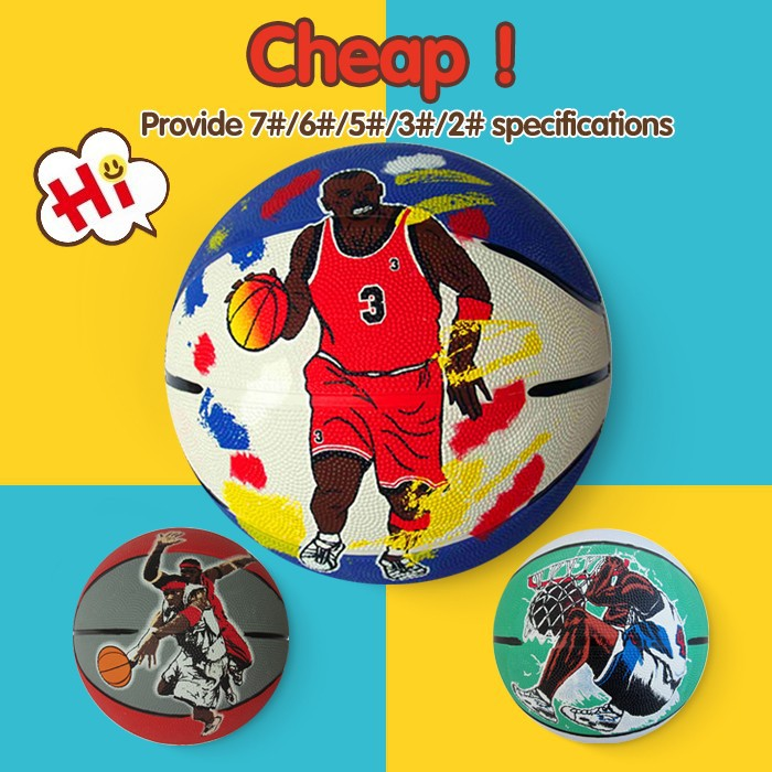 brand competitive designer inflatable basketball ball