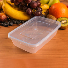 650ML Food Grade Plastic Container Vacuum, Take Away Lunch Box