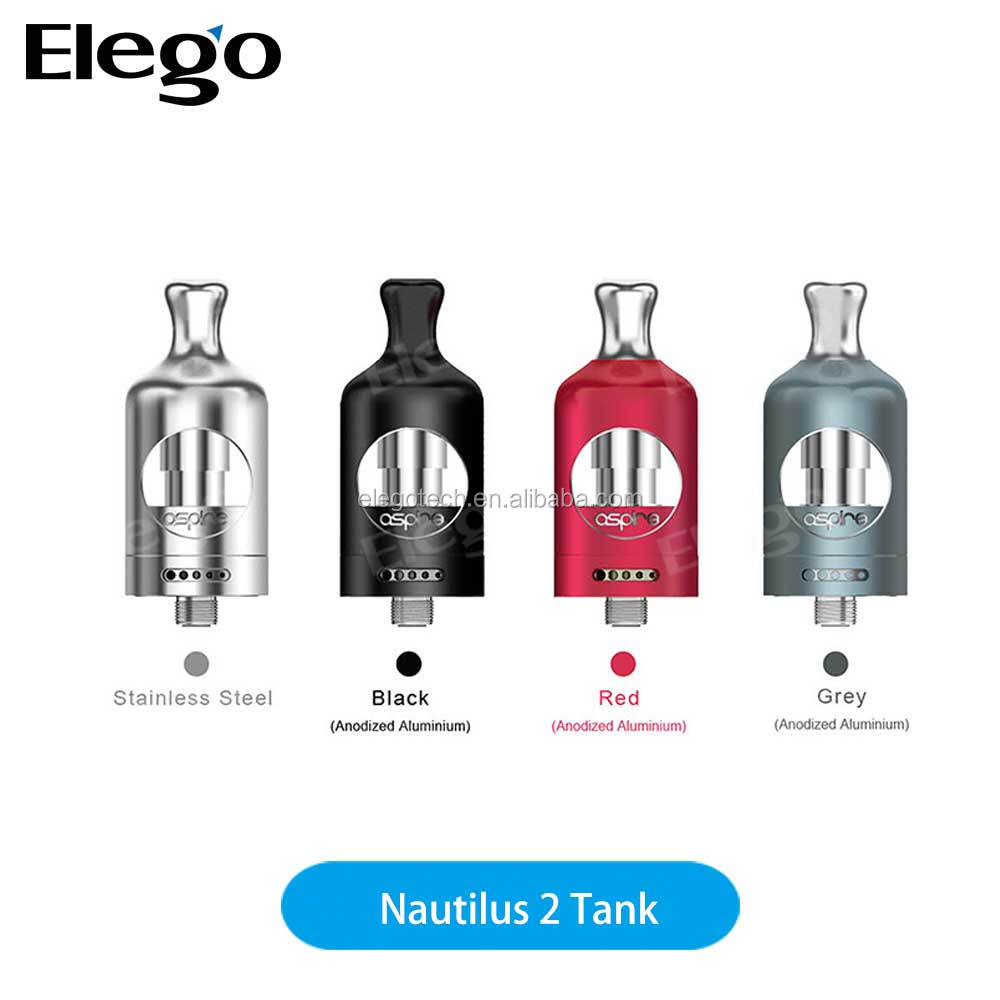 New Arrival ! 2017 Newest and Hottest Nautilus 2 Tank Wholesale from elego with Fast Shipping and Best Price