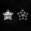 BOKA Star Shaped Rhinestone Alloy Metal Shoe buckle Star Rhinestone Buckles for bags BK-XK009