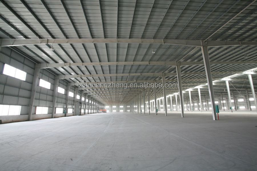 light prefabricated steel structure warehouse in Saudi Arabia