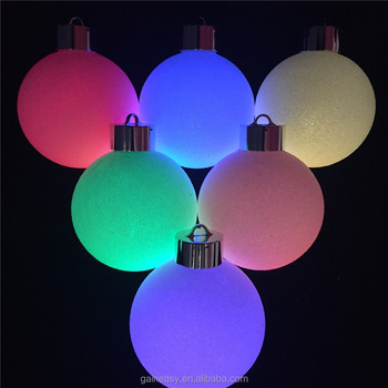 Remote Control Led Christmas Tree Decoration Ball Light