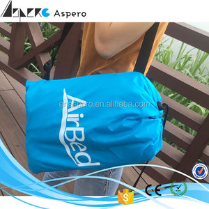Wholesale price inflatable sleeping bag air bag leg massager necessary of outdoor camping