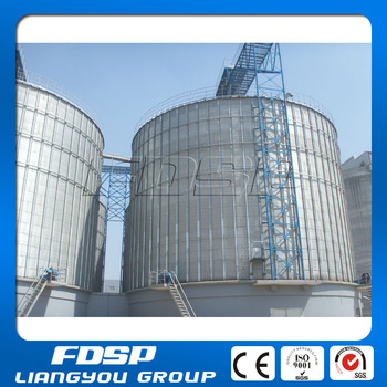 Good Resistance Flat Bottom Base Groundnut Storage Silo Oilseeds ...