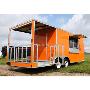American popular design BBQ Smoker Concession Trailer /Food Event Catering/  Mobile Food trailer for sale