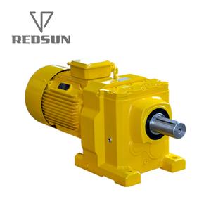 REDSUN S series Cast iron gearbox Helical/Worm gear reducer General  gearmotor