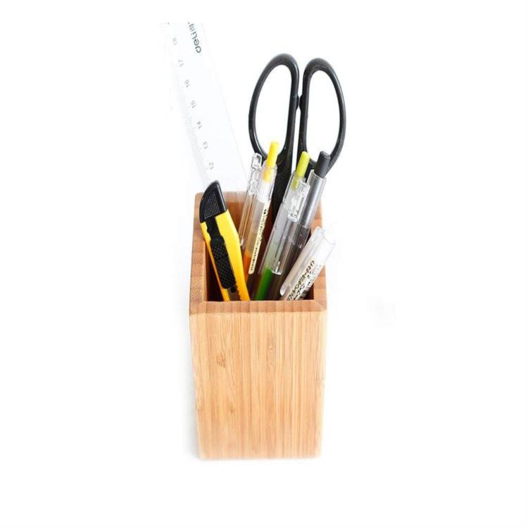 Professional bamboo pencil holder