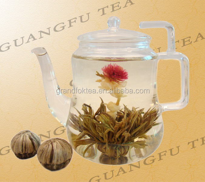 Shi Jie Guan Jun The Champion Blooming tea Silver Needle with Jasmine and lily flowering tea - 4uTea | 4uTea.com