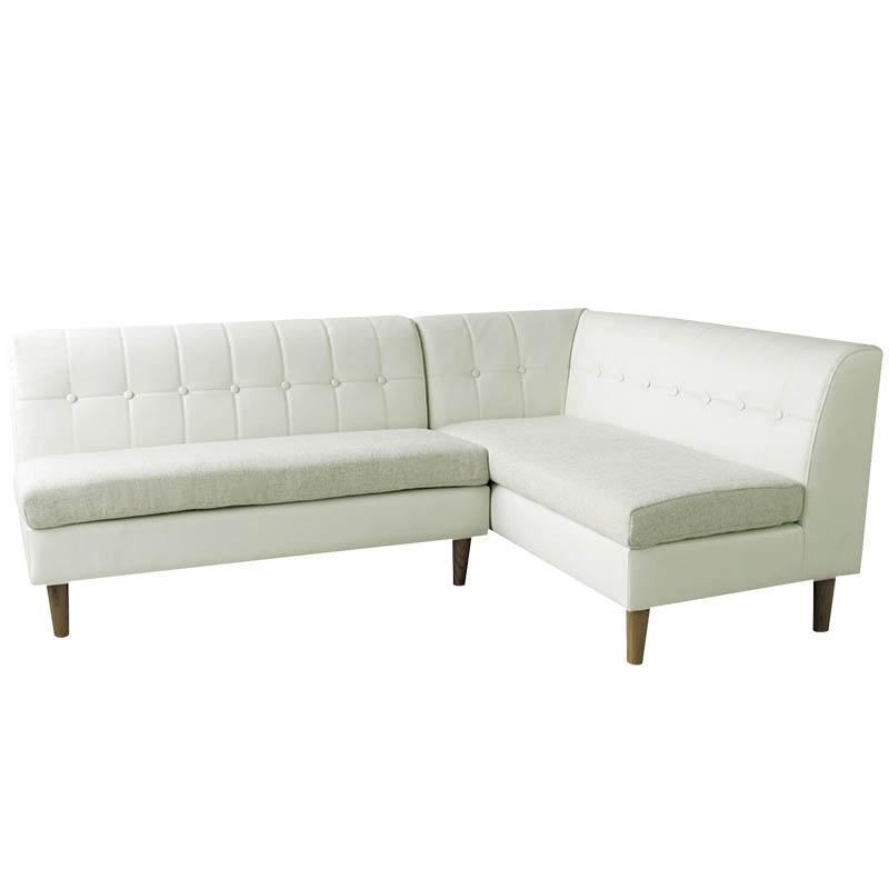Elegant lounge floor couch sofa modern white leather sectional sofa